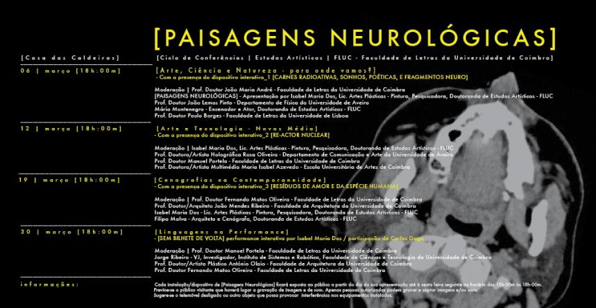 PAISAGENS NEUROLÓGICAS - PROGRAMA 2012